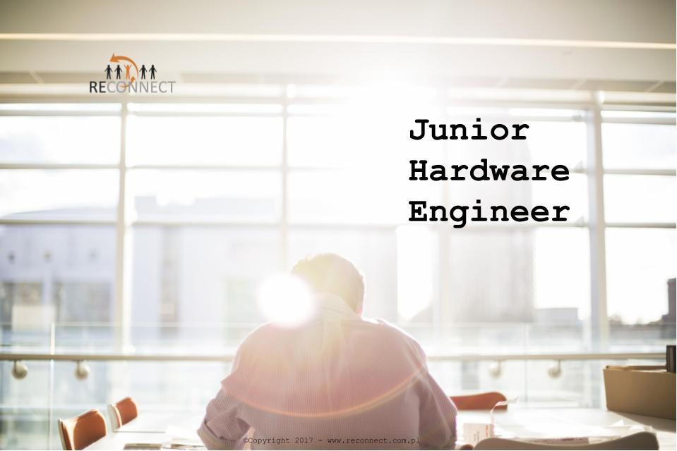 Zdjecie RECONNECT - Junior Hardware Engineer - strona www